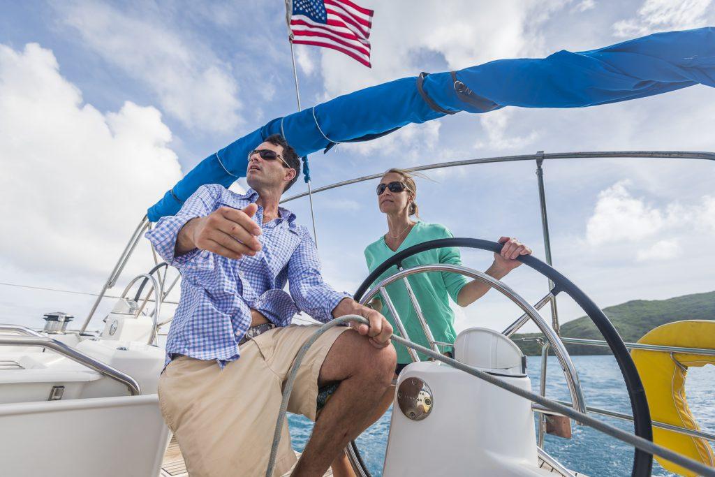 Qualified sailing crew